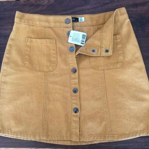 Urban Outfitters BDG high waisted corduroy skirt.
